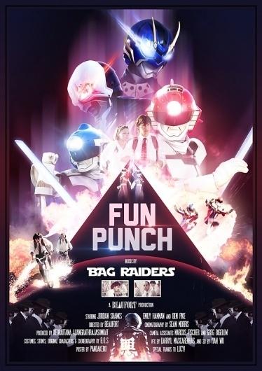 » Might&Wonder #video #raiders #pandakero #punch #poster #music #bag #fun