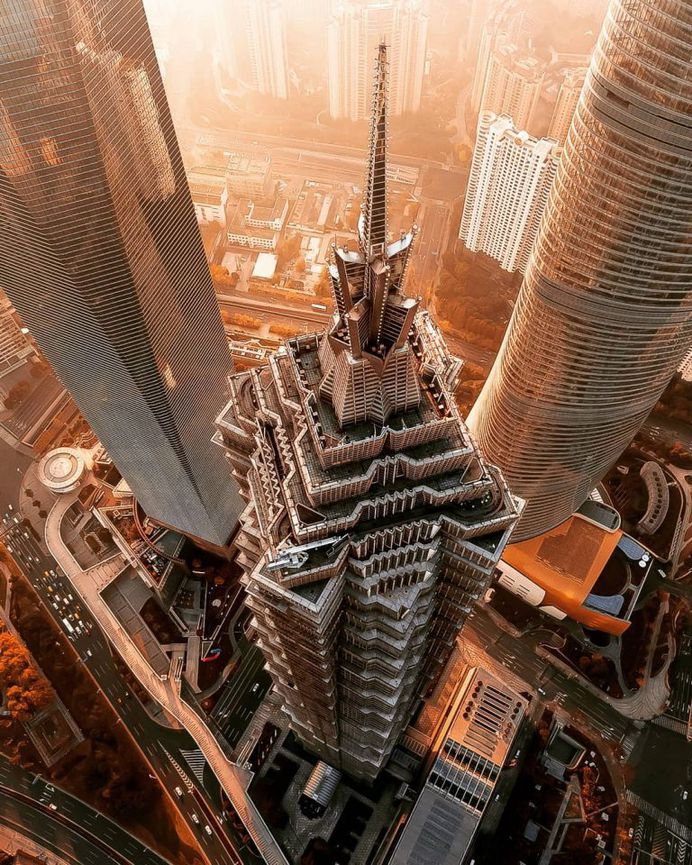Shanghai From Above: Moody Drone Photography by Mark Siegemund