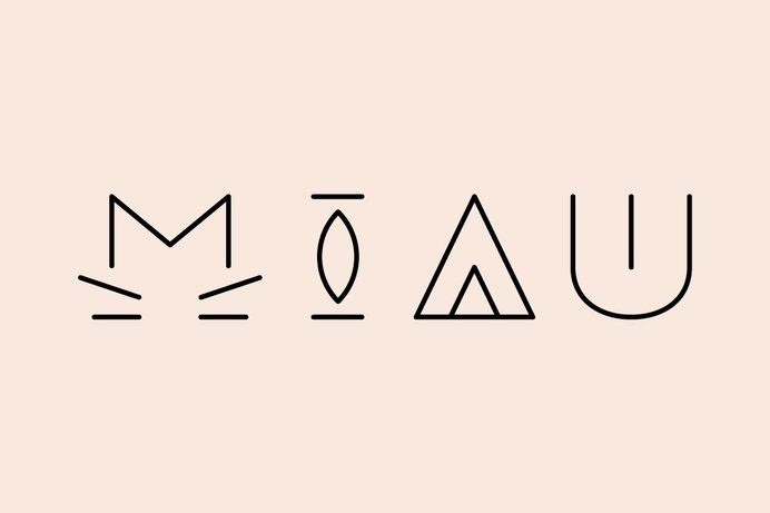 MIAU Typography #cat #typography