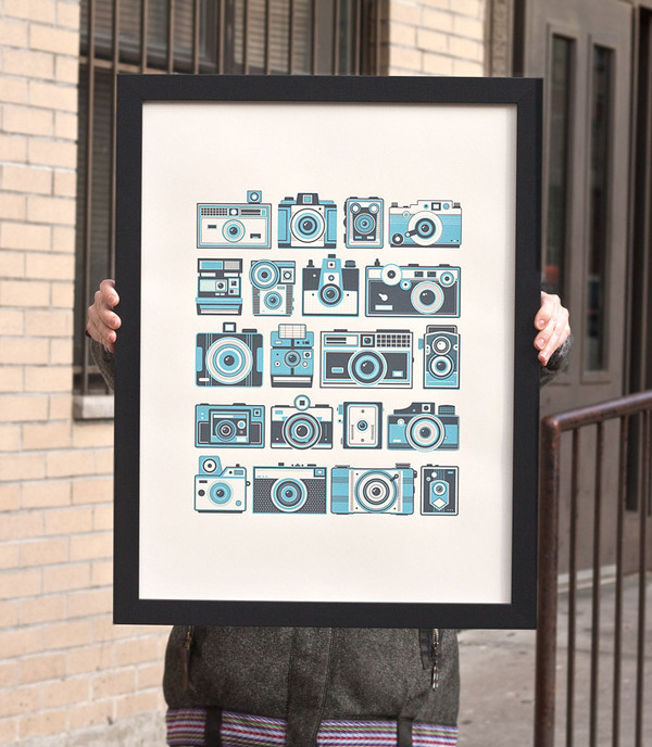 camera_poster_pin #illustration #cameras