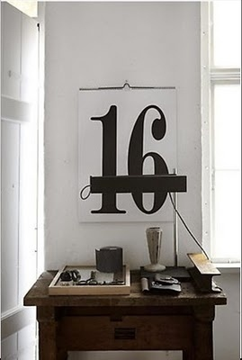 Graphic-ExchanGE - a selection of graphic projects #interior #numbers