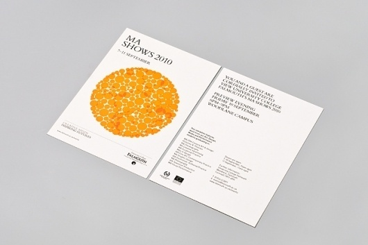 University College Falmouth MA Show Identity and Communications Materials 2010 | Two #two #design #graphic #poster