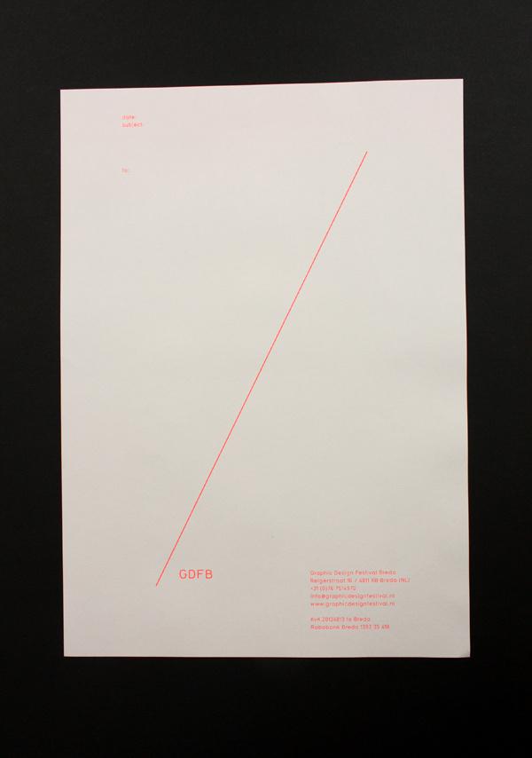 Graphic Design Festival Breda : Rob van Hoesel #identity