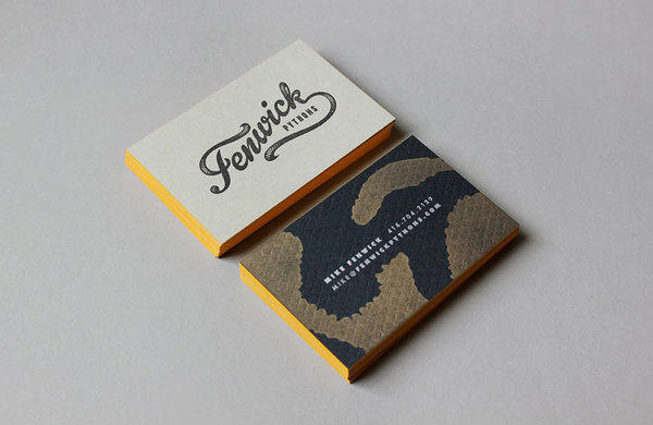 J Fletcher design #business #card #identity #collateral #logo