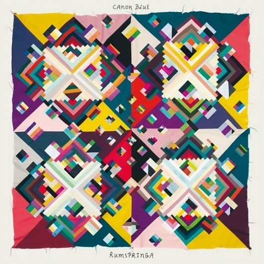 The Fox Is Black » 'Indian Summer (Des Moines)' by Canon Blue #quilt #pattern #geometric