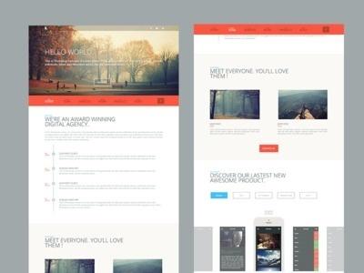 Template Website #banner #web #ui