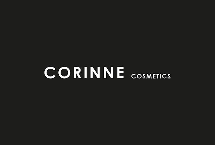 Corinne Cosmetics by Anna Trympali #logotype #logo #typography