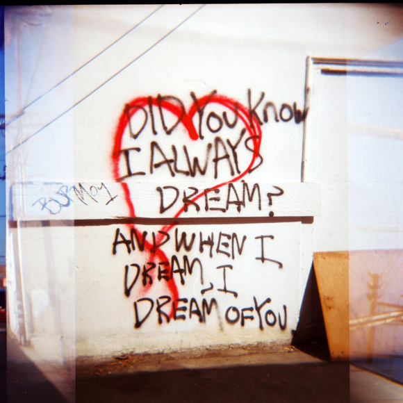 Dream Machine © Adele Jancovici 2015 Color print on paper #photography #art #graffiti #losangeles #streetart #love