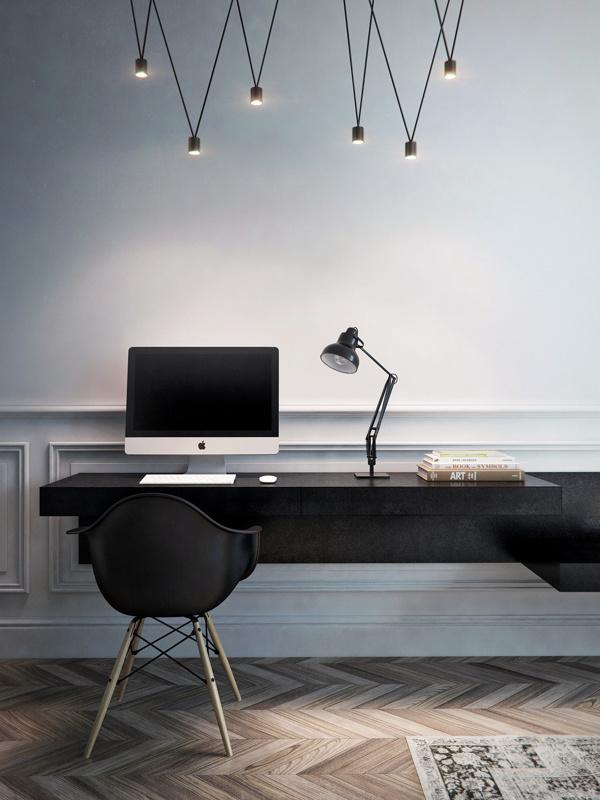 Interior Styling – Black, White + Wood