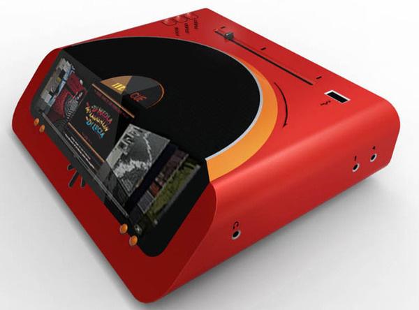 Valentine Turntable #design #futuristic #gadget #concept