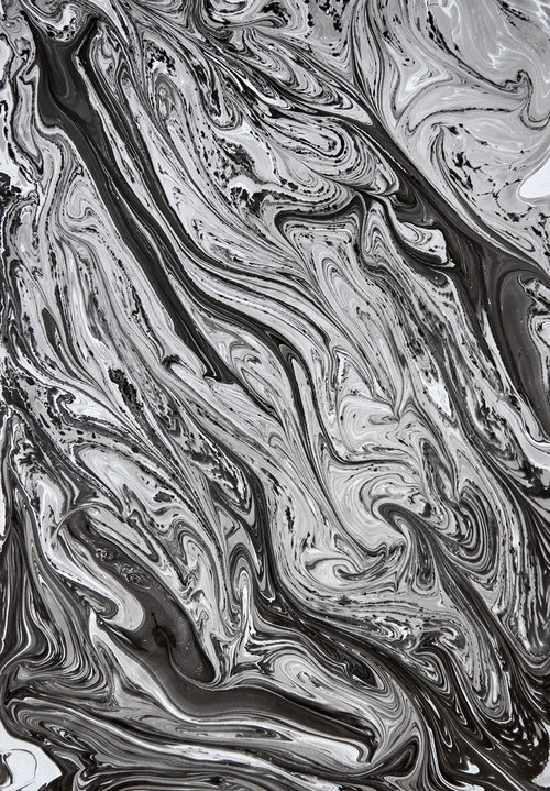 Hand-pulled Marble Prints - marbledesignco.com #marbling #pattern