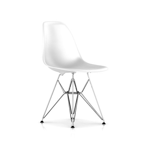 Molded Plastic Chair by Charles & Ray Eames #chair #furniture #eames