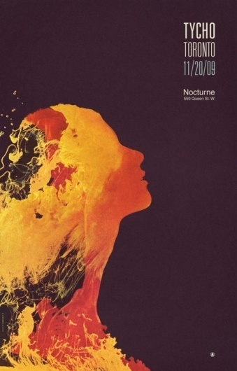 Tycho Live In Toronto / New Poster » ISO50 Blog – The Blog of Scott Hansen (Tycho / ISO50)