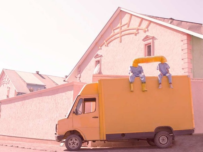Surreal Pastel Coloured Photography by Karen Khachaturov