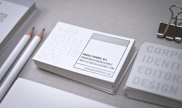 Fedorec #card #identity #business