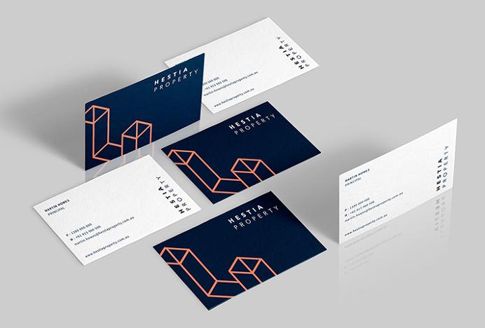 Hestia Property by Studio 361 #stationary #branding #graphic design
