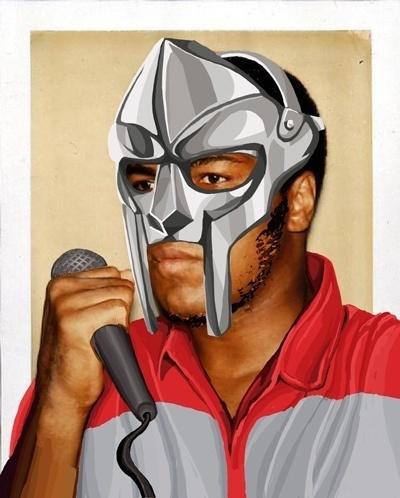 Muhammad Doom   Flickr - Photo Sharing! #muhammad #wacom #doom #design #paint #illustration #mf #ali