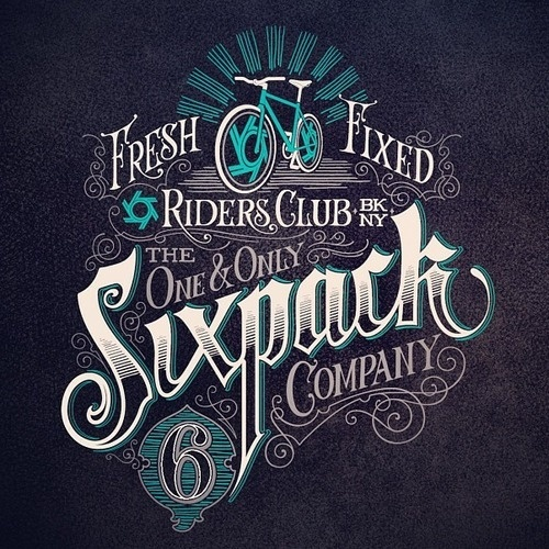Typeverything.com, Matthew Tapia - Typeverything #fresh #lettering #biking #typography