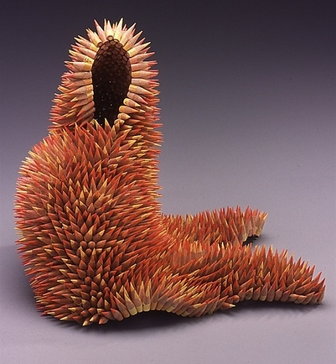 WANKEN - The Blog of Shelby White» Amazing Pencil Sculptures by Jennifer Maestre #sculpture #maestre #jennifer #art #pencil