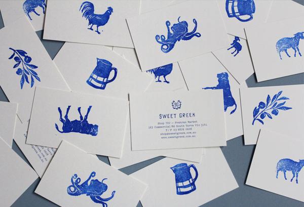 Sweet Greek designed by Studio Brave #print