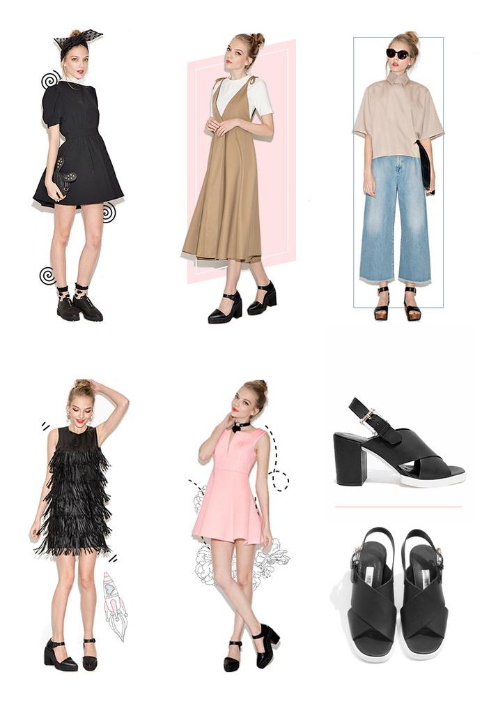 pixie market #fashion #illustration
