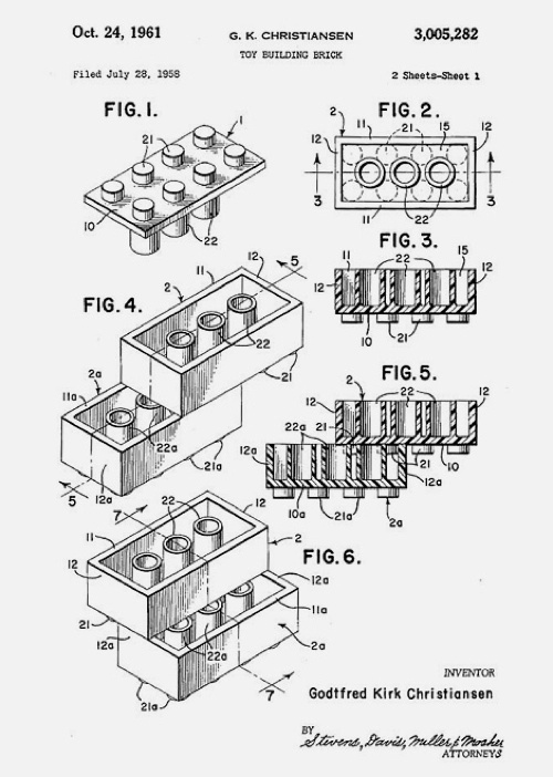Jared Erickson | Because I Can #patent #lego