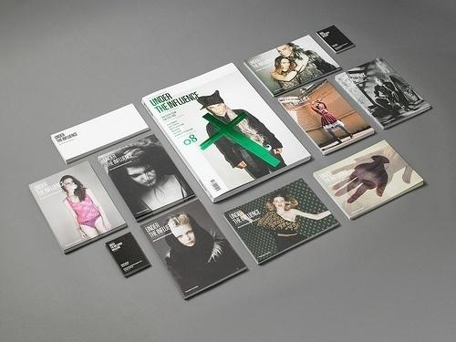 » Under The Influence Magazine Flickrgraphics #cover #design #graphic #magazine