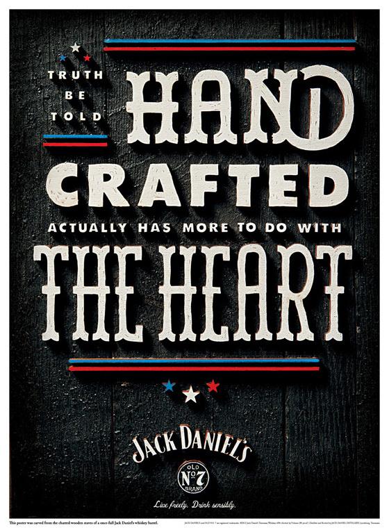 TheeBlog JackDaniels Independence1 #typography