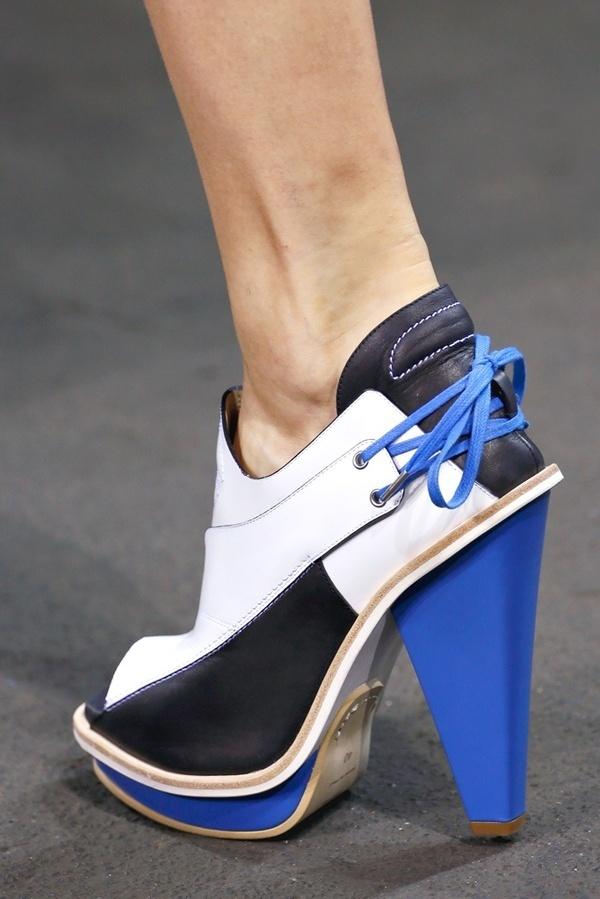 Rag & Bone SS13 #blue #lace #shoes