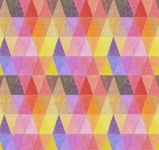 Welcome to the works section darling! #geometric #montiel #illustration #colors #mantra #ana