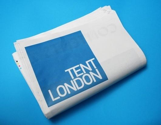 MARC&ANNA - WORK #london #print #newspaper #cover #minimal #type #magazine #typography