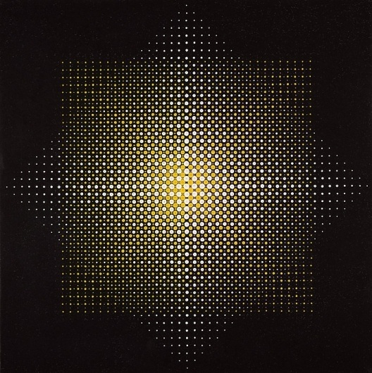 ICASEA: Almir da Silva Mavignier - Two Squares (1967) #1960s #dots #print