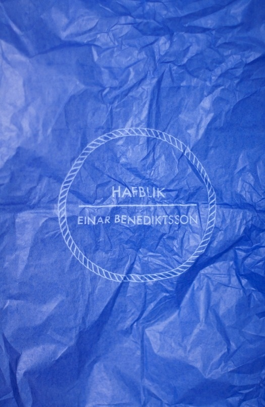 Hafblik on Behance #blue #print #circle #rope