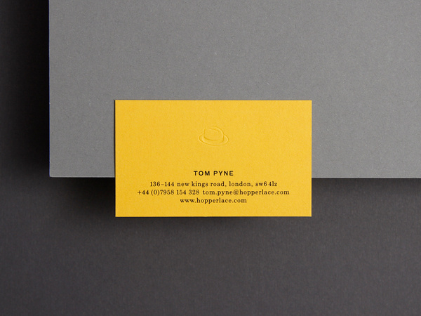 Kasper Florio — SI Special #card #yellow #business #typography