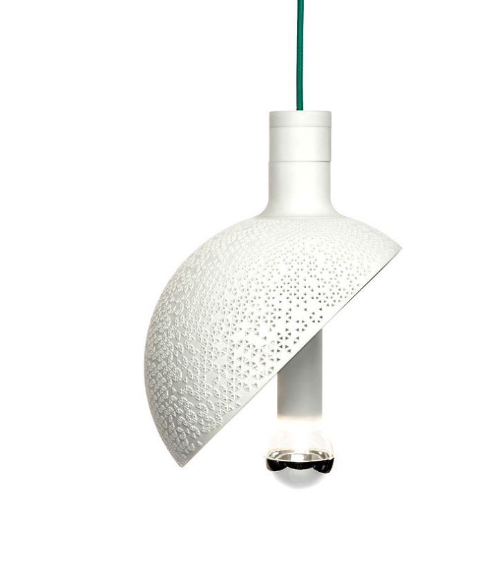 3D-printed Light by Marco Lafiandra for .exnovo - #lamp, #design, #lighting, lights, lighting design