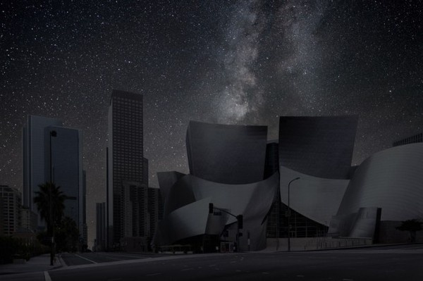 Los Angeles in landscape night photography #photos #photographic #photograph #exhibition #photography #landscapes