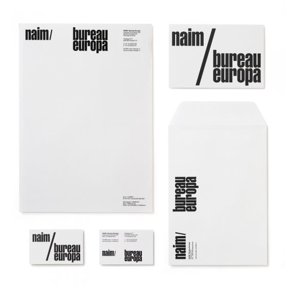 BE Graphic Identity by Experimental Jetset