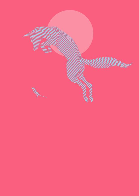shotopop_ragimals_002 #line #fox #mouse #illustration #dog