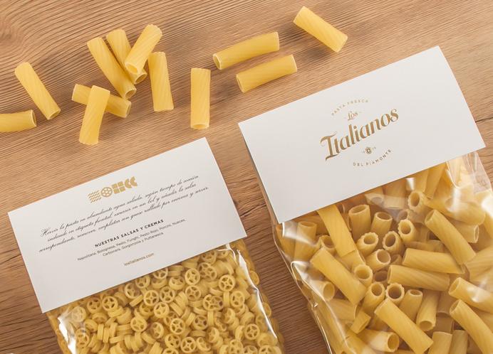 Los Italianos #packaging #pasta #food #branding