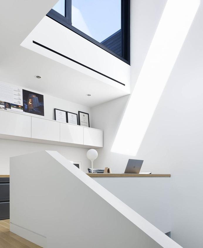 Great Like Studio Designed a Three Storey Residence Like a Peaceful Urban Retreat