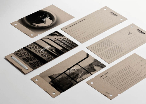 designeverywhere:Bota Bota #design #printing #tickets #single #colour