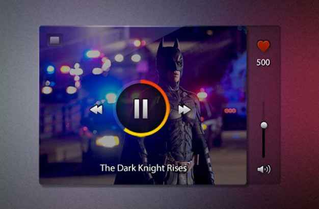 Video player with superhero psd Free Psd. See more inspiration related to Video, Superhero, Psd, Batman, Video player, Player, Horizontal and Mini on Freepik.