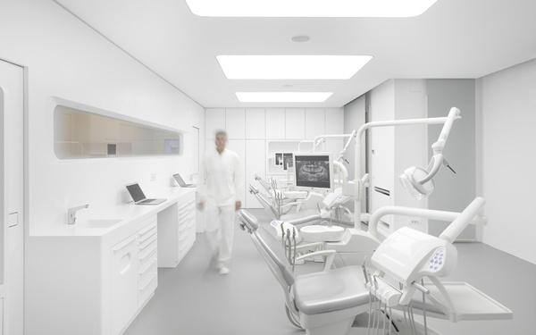 White Space Orthodontic Clinic by bureauhub #modern #design #minimalism #minimal #leibal #minimalist