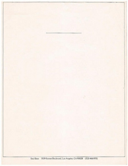 Interesting Letterhead Designs | Letterheady #bass #saul #letterhead