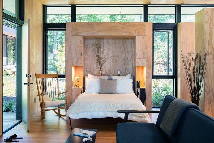 indoor outdoor family retreat Wittman Estes Architecture + Landscape