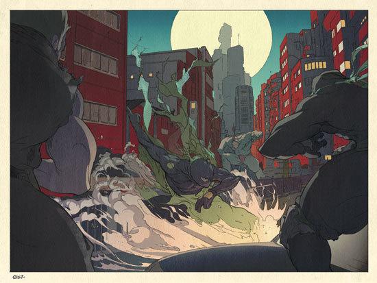 Folio illustration agency, London, UK | Gez Fry Manga ∙ Anime ∙ Comic ∙ Contemporary ∙ Publishing ∙ Advertising Illustrator #gez #fry