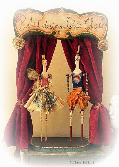 photo #fairy #doll #scene #courtain #paper