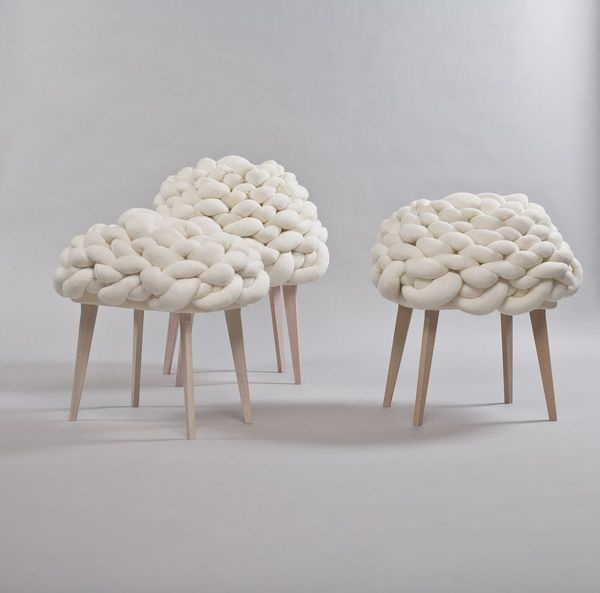Cloud Stool Design by Joon #interior #creative #modern #design #furniture #architecture #art #decoration