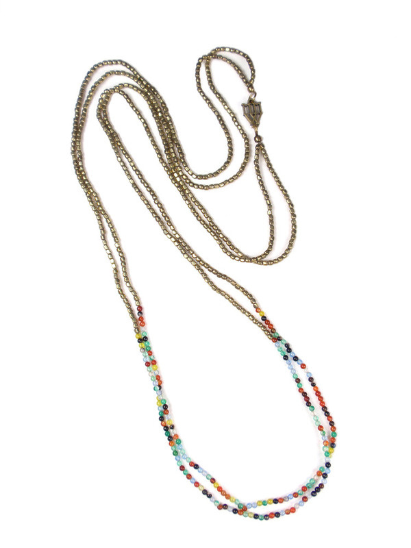 LAYERING NECKLACE by METTA METALWORKS #jewelry #necklace