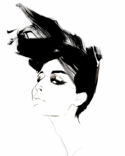 Fashion illustrator, David Downton - Creative Journal #fashion #illustration #david #downton